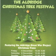 Participate in the Aldridge Christmas Tree Festival with Anchor Road Dental Practice