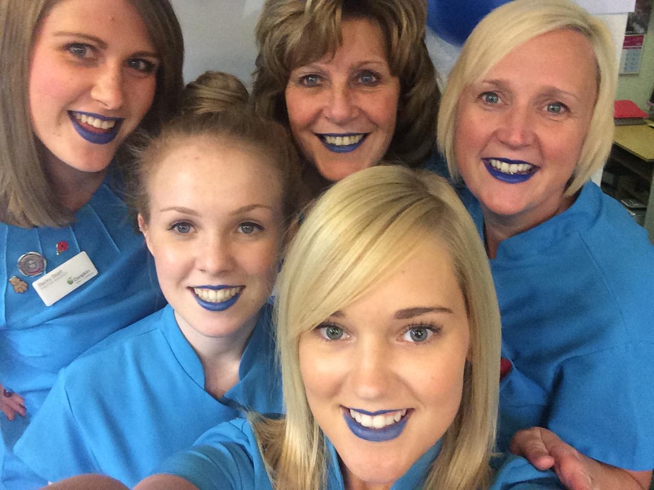Dentist Walsall Bluelipselfie