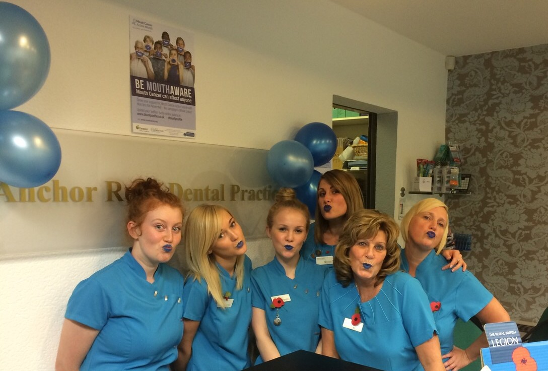 Dentist Aldridge #BlueLipSelfie #MCAM14