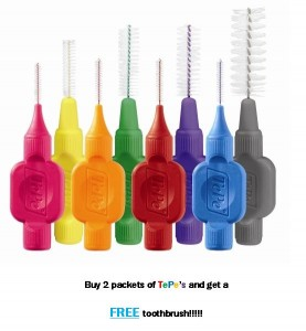 Free toothbrush offer from Dentist near Sutton Coldfield and Streetly