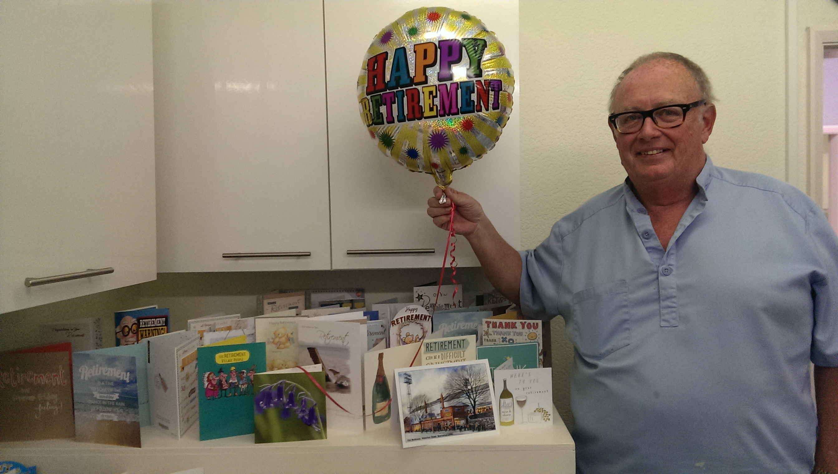Aldridge Dentist retires